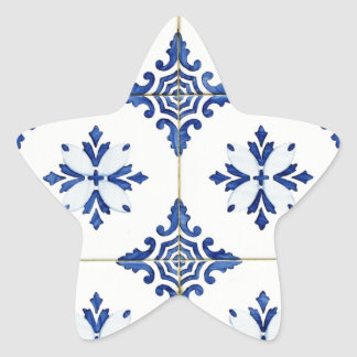 Tiles Star Sticker