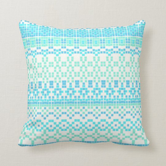 Tiles Throw Pillow