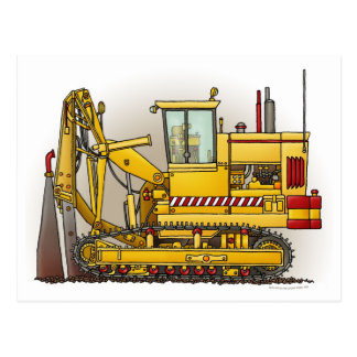 Tiling Machine Postcard