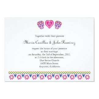 Till Death Sugar Skulls Banner Card
