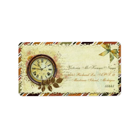 Till The End of Time Victorian BUSINESS OFFICE Label