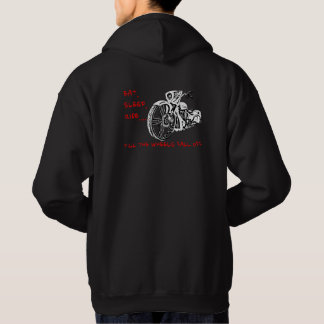 TILL THE WHEELS FALL OFF hoodie