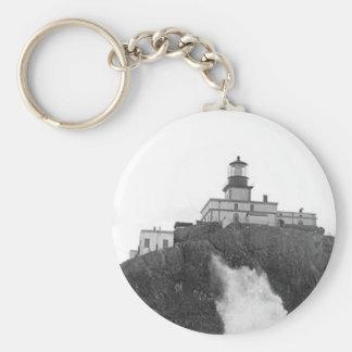 Tillamook Rock Lighthouse Keychain