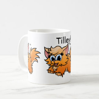 Tilley The Kitten Coffee Cup