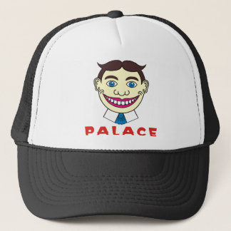Tillie over Palace Letters Trucker Hat