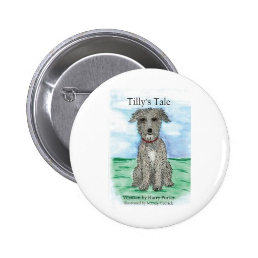 Tilly's Tale Pinback Button