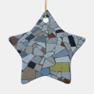 Tilos en Bolivia Ceramic Star Ornament