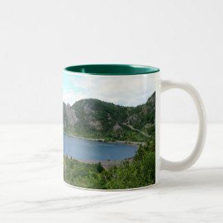 Tilt Cove Two-Tone Coffee Mug