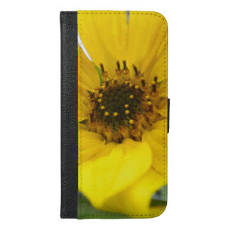 Tilted Sunflower iPhone 6/6s Plus Wallet Case