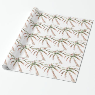 Tilting Palm Wrapping Paper