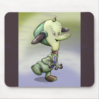 TIM CUTE ALIEN ROBOT CARTOON MOUSE PAD