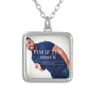 Tim Drummer Silver Plated Necklace