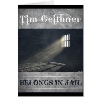 Tim Geithner Card