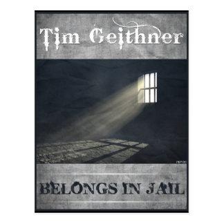Tim Geithner Postcard