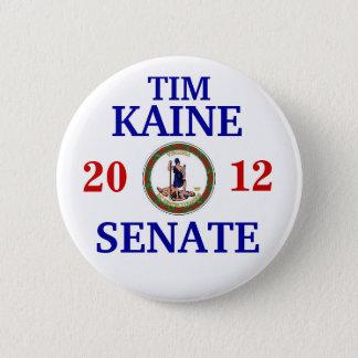 TIM KAINE FOR SENATE 2 INCH ROUND BUTTON