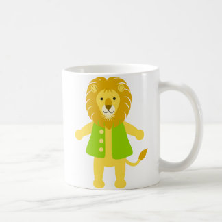 Tim Lion Basic White Mug