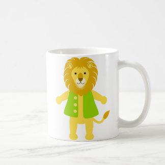Tim Lion Classic White Coffee Mug