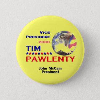 Tim PAWLENTY VP Button