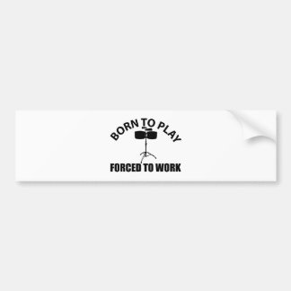 timbales design bumper sticker