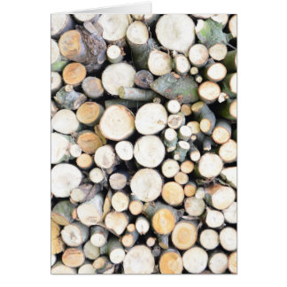 Timber background card