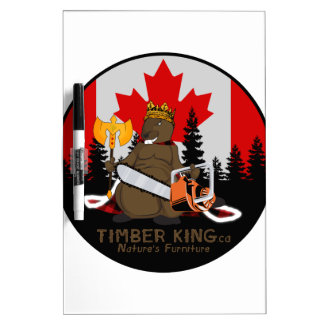 Timber King Log and Stone Furniture Dry Erase Board