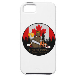 Timber King Log and Stone Furniture iPhone 5 Case