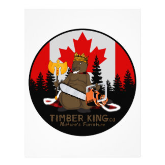 Timber King Log and Stone Furniture Letterhead