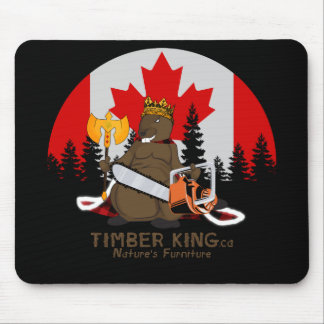 Timber King Log and Stone Furniture Mouse Pad
