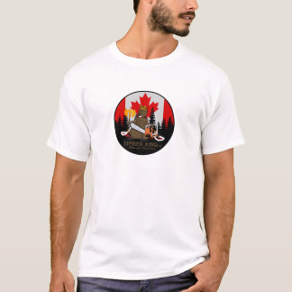 Timber King Log and Stone Furniture T-Shirt