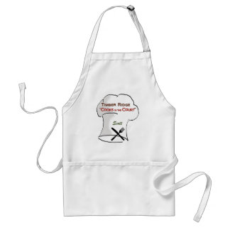 Timber Ridge Cooks in the Court - Scott Standard Apron