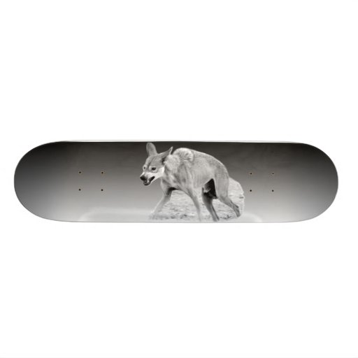 Timber Wolf Snarl Skateboards