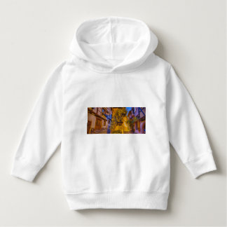 Timbered houses in the village of Eguisheim Hoodie