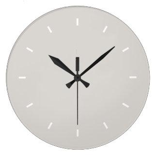 Timberwolf Premium Colorful Clock