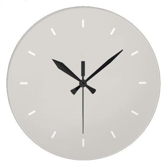 Timberwolf Premium Colourful Large Clock