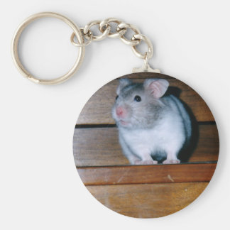 Timbit the Hamster Keychain