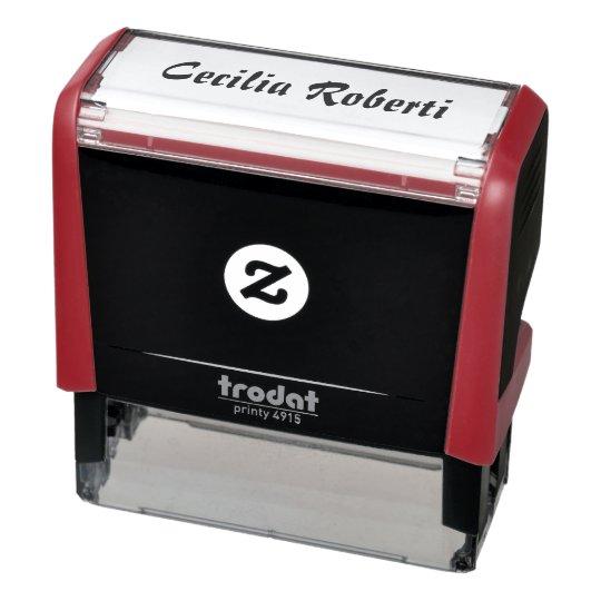 timbro self-inking stamp