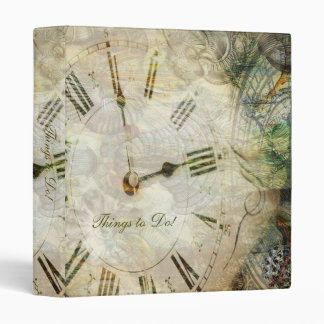 Time After Time - TBA winner 3 Ring Binder