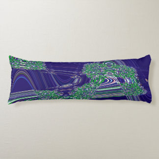 TIME AND SPACE ARE NEVER LINEAR BODY PILLOW