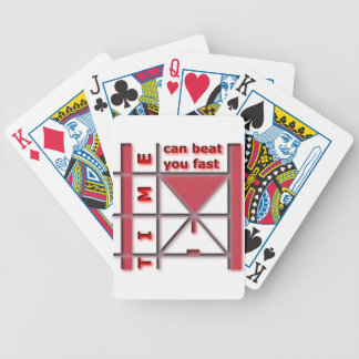 Time Can Beat You Fast Poker Deck