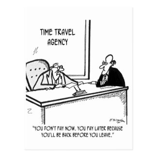 Time Cartoon 5138 Postcard
