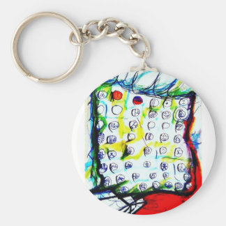 Time Crystals and The Quantum Soup by Luminosity Basic Round Button Keychain