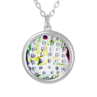 Time Crystals and The Quantum Soup by Luminosity Silver Plated Necklace