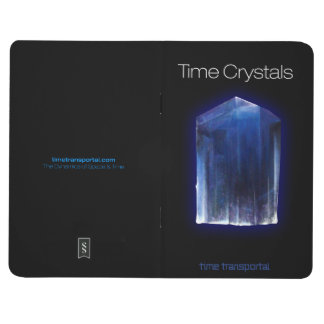 Time Crystals Notebook Journal
