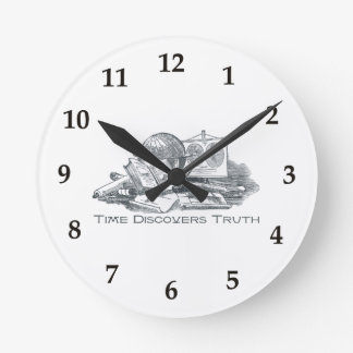 Time Discovers Truth Clock
