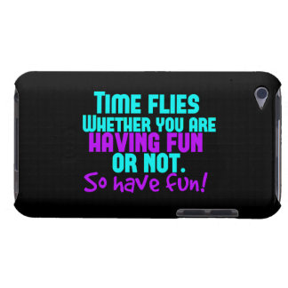 Time Flies - Have Fun! iPod Case-Mate Cases