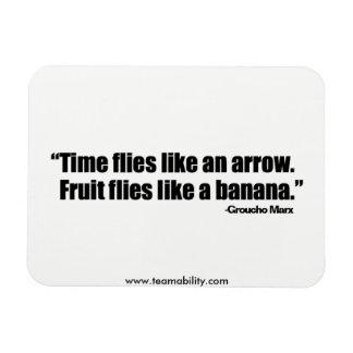 Time Flies Magnet