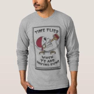 """time flies when yer havin rum"" T-Shirt"