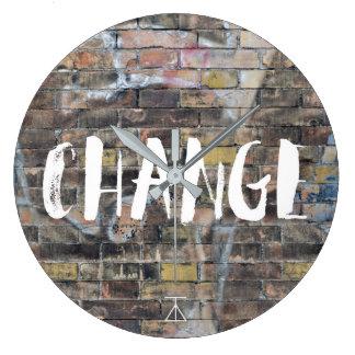 Time For A Change Graffiti Clock