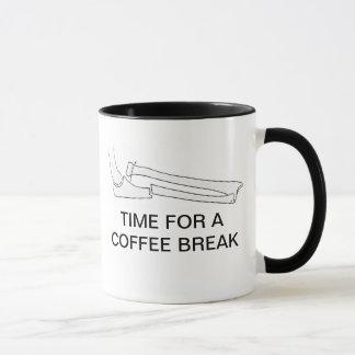 TIME FOR A COFFEE BREAK MUG