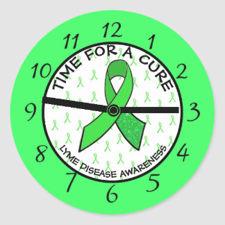 Time for a Cure, Lyme Disease Awareness Stickers
